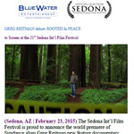 2015 - February - ROOTED in PEACE World Premiere Sedona Int'l